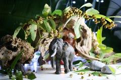 Elephant model. Royalty Free Stock Image
