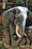 Elephant  mold Stock Photography