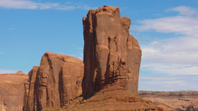 Elephant Monolith in the monument valley Stock Photography