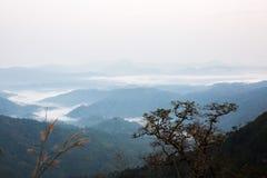 Elephant Mountain or Galaxy Mountain. Thong Pha Phum National Pa Royalty Free Stock Image