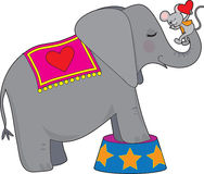 Elephant and Mouse Stock Photos