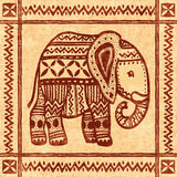 Elephant ornamental Royalty Free Stock Images