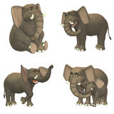 Elephant Pack Royalty Free Stock Images