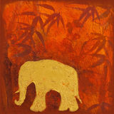 Elephant painting Royalty Free Stock Photo