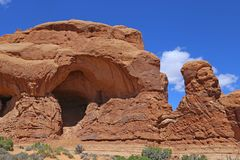 Elephant Parade in Arches National Park royalty free stock photos