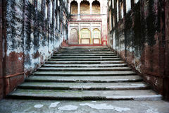 Elephant Path - Stairs - Lahore Fort Royalty Free Stock Photo