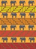 Elephant Pattern Royalty Free Stock Photos