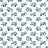 Elephant pattern Stock Images