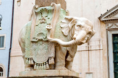 Elephant at Piazza della Minerva in Rome, Italy Stock Photo