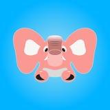 elephant pink 免版税库存照片