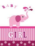 Elephant pink  Stock Image