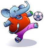 Elephant playing Stock Photography