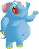 Elephant presenting Royalty Free Stock Image