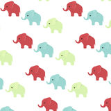 Elephant print fabric pattern vector. Elephant print fabric pattern isolated on transparent background Royalty Free Stock Photo