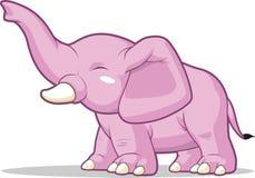 Elephant Raising Its Trunk Stock Photos