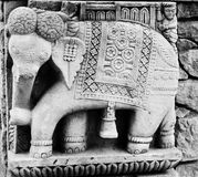 Elephant relief Stock Images