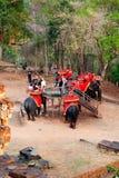 Elephant ride in Angkor Wat, Cambodia Stock Photography