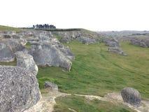 Elephant rock. Duntroon, Otago. Amazing place Royalty Free Stock Photo