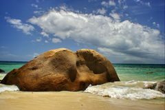 Elephant Rock. Nature fun Royalty Free Stock Images