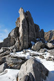 Elephant rock piles Stock Photography