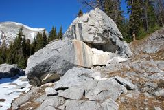Elephant rock piles Royalty Free Stock Image