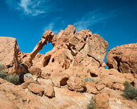 Elephant Rock, Valley of Fire State Park, NV Royalty Free Stock Photos