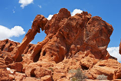 Elephant Rock, Valley of Fire State Park Stock Image