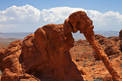 Elephant Rock, Valley of Fire State Park Royalty Free Stock Photography
