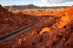 Elephant Rock in Valley of Fire State Park, USA. Valley of Fire. State Park is the oldest state park in Nevada, USA and was designated as a National Natural royalty free stock photo