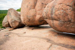 Elephant Rocks. State Park in Missouri royalty free stock photography