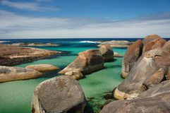 Elephant Rocks. In Denmark, Western Australia Stock Photos