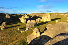 Elephant rocks in New Zealand Royalty Free Stock Photos