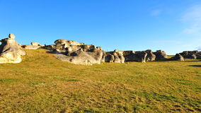 Elephant rocks in New Zealand Royalty Free Stock Image