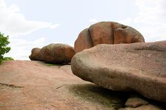 Elephant Rocks State Park in Missouri Royalty Free Stock Photography
