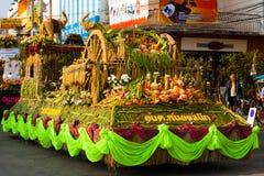 Elephant Roundup Parade Float Royalty Free Stock Photography