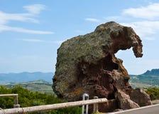 The Elephant's rock Stock Image