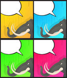 Elephant said Stock Images