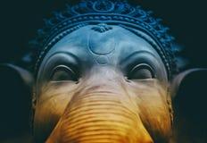 Elephant Sculpture Stock Images