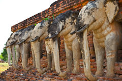 Elephant sculpture Royalty Free Stock Photo