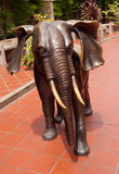 Elephant sculpture Royalty Free Stock Images