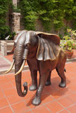 Elephant sculpture Stock Photo