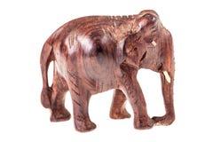 Elephant sculpture stock image
