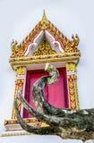 Elephant sculpture in temaple Royalty Free Stock Photos