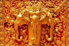 Elephant sculpture Royalty Free Stock Photos