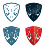 Elephant shield Royalty Free Stock Photography