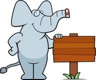 Free Elephant Sign Royalty Free Stock Photography - 14633197