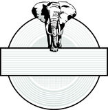 Elephant Sign Stock Photos
