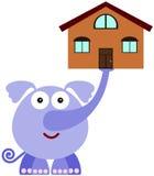Elephant stability Royalty Free Stock Photos