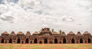 Elephant Stable. Its been taken in Hampi stock photography