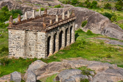 Elephant Stables. At Gingee Fort in Tamil Nadu, India Royalty Free Stock Image